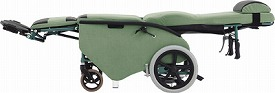 ティルト&フルリクライニング車椅子 エリーゼ FR-31TR / エリーゼスキン モケットタイプ