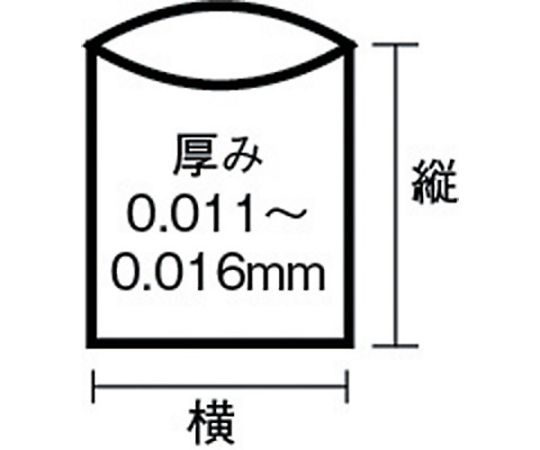エコノプラス薄手タイプ半透明45L 20枚 E-40