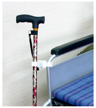 杖ホルダー つえポンKS 車椅子・シルバーカー用 / TH-K001S