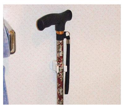 杖ホルダー つえポンR 両面テープ取付タイプ / TH-R002