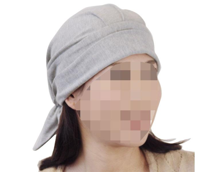 akko「バンダナ帽」 【スカッシュ】 / ブラック