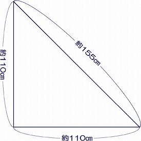快適仕様 三角巾 / 525690 1枚入