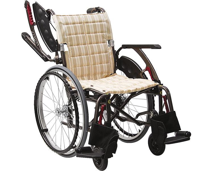 WAVIT+(ウェイビットプラス) WAP22-40S ソフトタイヤ仕様 自走用 / 座幅40cm 2色より選べます