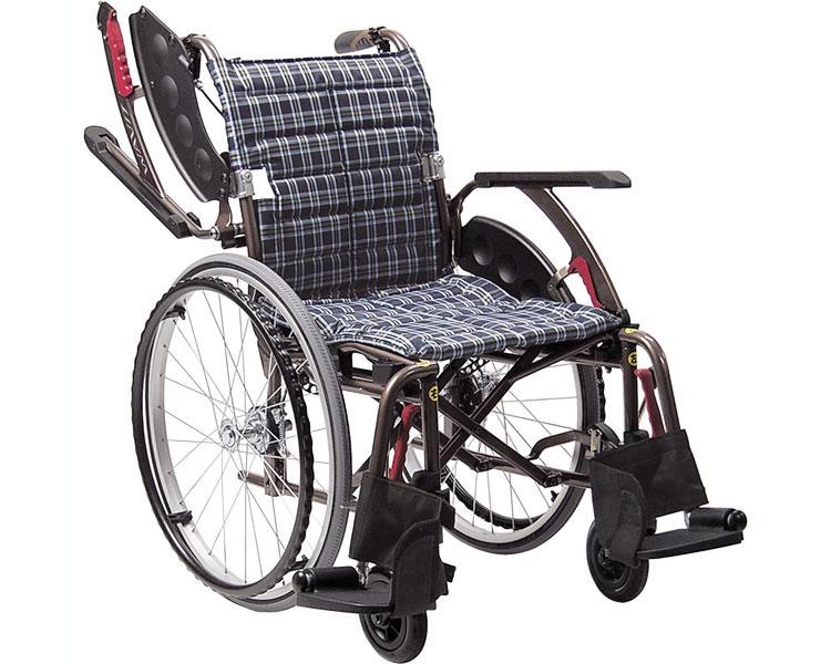 WAVIT+(ウェイビットプラス) WAP22-42S ソフトタイヤ仕様 自走用 / 座幅42cm 2色より選べます