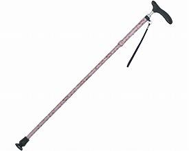☆ラッピング可☆ 折りたたみ和柄杖