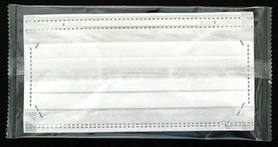 個別包装タイプ不織布マスク50枚 箱 少し小さめ