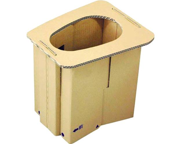 ダンボール製簡易トイレ プルマル� / PM3-5