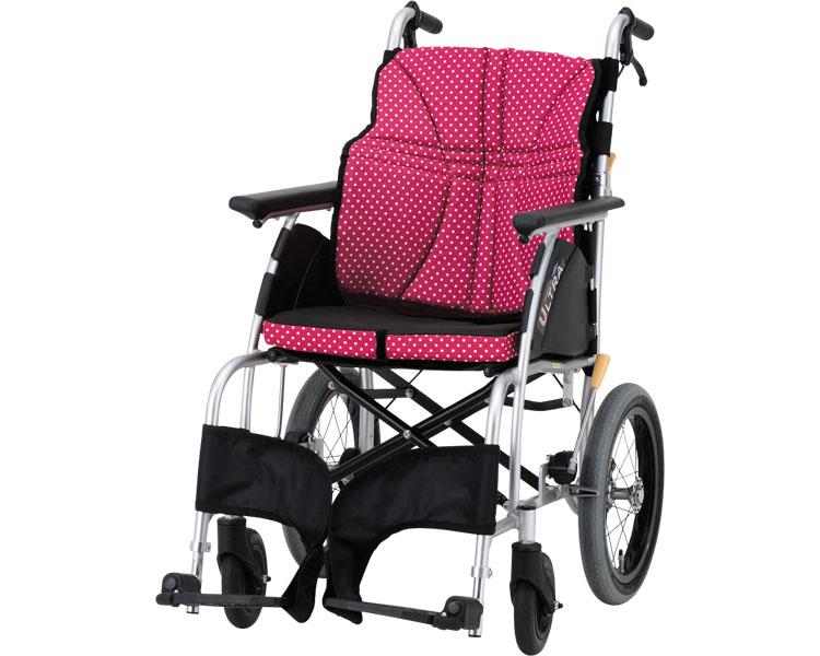 アルミ介助車椅子 ウルトラ NA-U1 / 座幅38・40・42 2色より選べます。