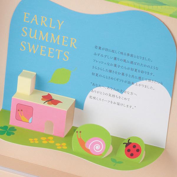 ギフト E  初夏(新緑と雨粒)