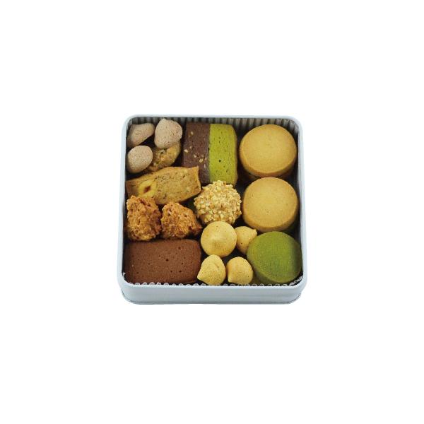 クッキー缶 正方形 スぺシャリー