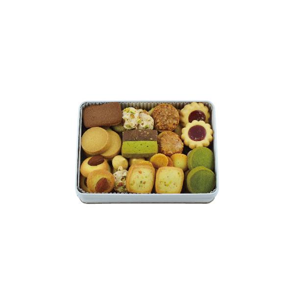 クッキー缶 長方形 メルシー