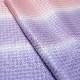洗える帯揚げ/ふるるん/和装小物/ピンク×薄紫×紫/3色ぼかし/丹後ちりめん/千鳥/小紋、色無地用/カジュアル/絹100%/サイズ:約31cm×181.5cm/日本製
