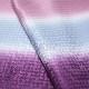 洗える帯揚げ/ふるるん/和装小物/ピンク×青灰×赤紫/3色ぼかし/丹後ちりめん/千鳥/小紋、色無地用/カジュアル/絹100%/サイズ:約31cm×181.5cm/日本製