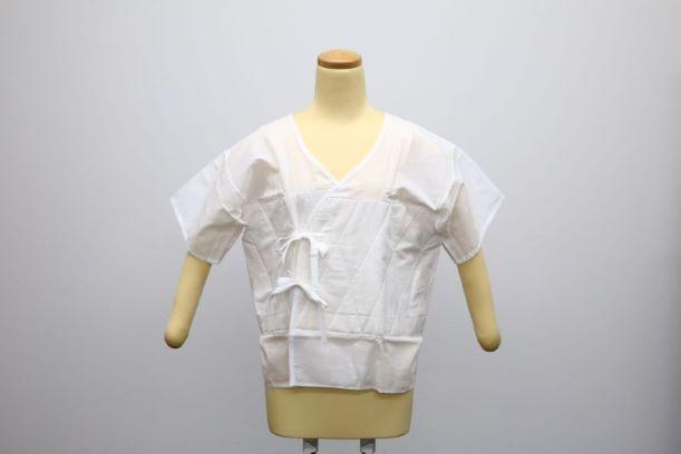 あしべ織汗取/肌着/インナー/和装小物/天然素材/燈芯/Mサイズ