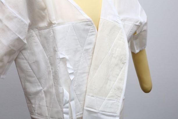 あしべ織汗取/肌着/インナー/和装小物/天然素材/燈芯使用/Lサイズ/着心地快適