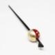 玉かんざし/一本かんざし/和装小物/赤×シルバー/桜/サイズ:長さ約16.5�、玉の直径 約2.5cm