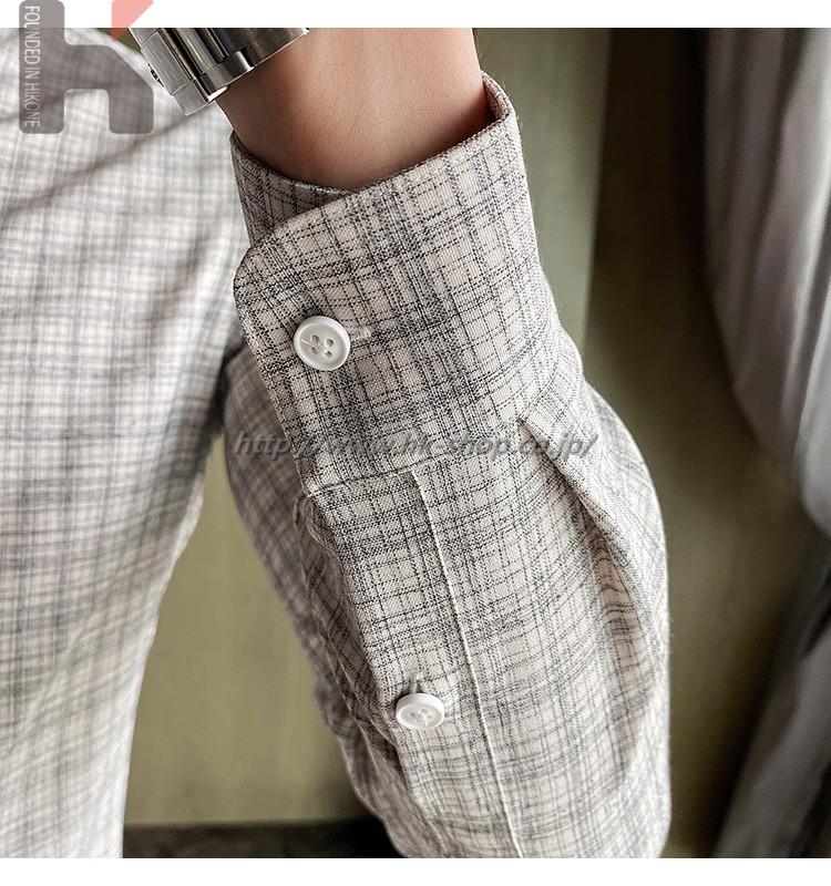 長袖 チェック柄 ワイシャツ メンズ カジュアル シャツ シャツ 春 夏 秋 通勤 通学 オフィスタイト ギフト プレゼント