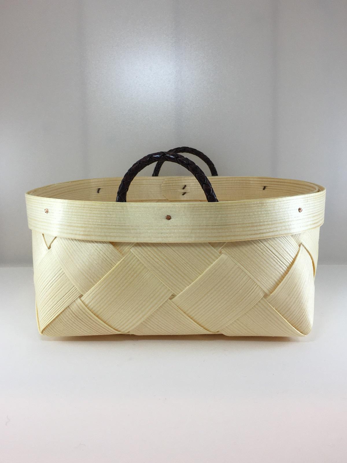 【272】 木製バスケット