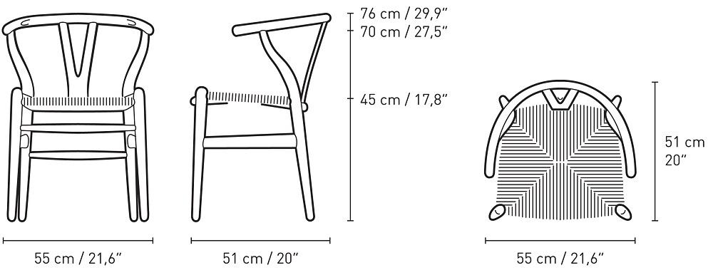 Yチェア CH24 SOFT / ソフトグレー/カールハンセンアンドサン(通常価格)