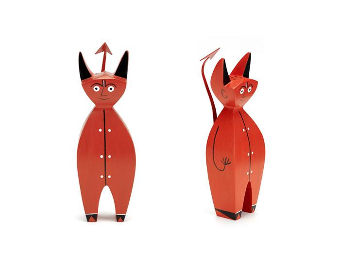 Wooden Doll Little Devil