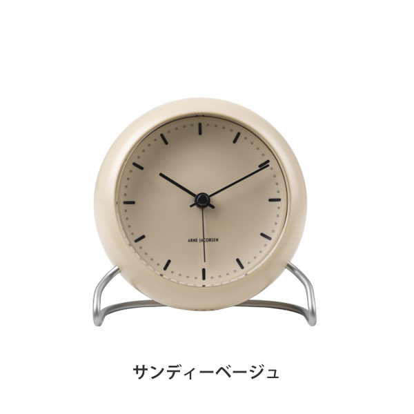 "【期間限定】TABLE CLOCK ""CityHall"""