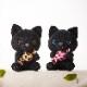 ホテル公式マスコット 双子のアメちゃんねこペア(2体)【保護猫施設への寄附金付】