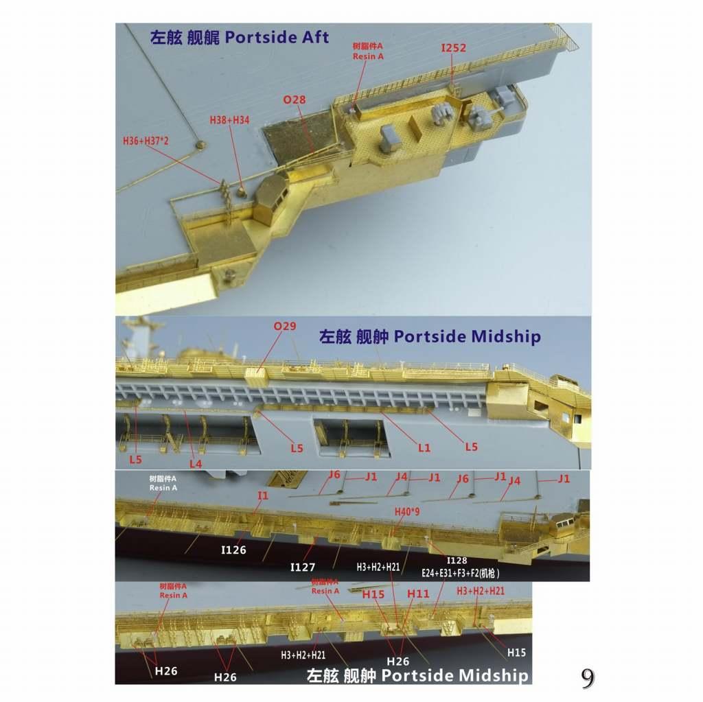 FS700152 中国人民解放軍海軍 航空母艦 遼寧 2019 スーパーアップグレードセット