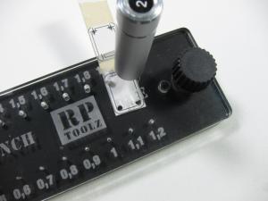 RP-PD パンチ&ダイ 丸 プラ板/金属板打ち抜き工具
