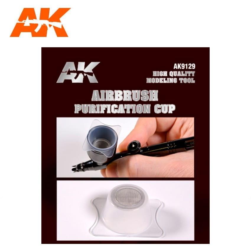 【新製品】AK09129 エアブラシカップフィルター