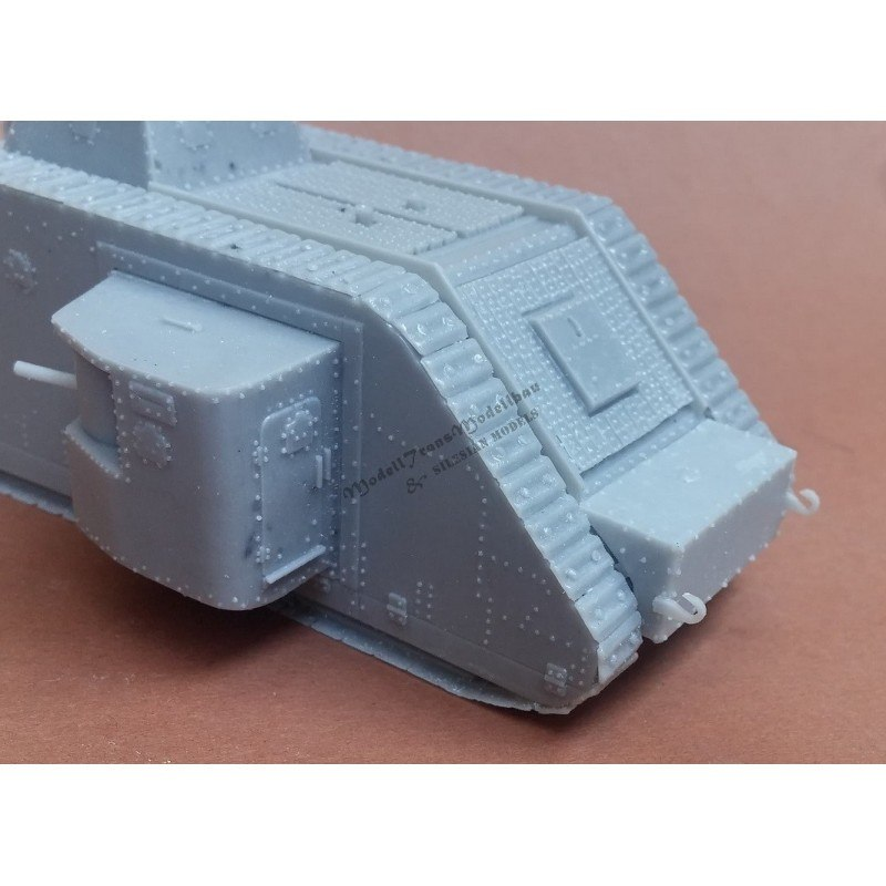 MT72824 ドイツ A7VU 戦車