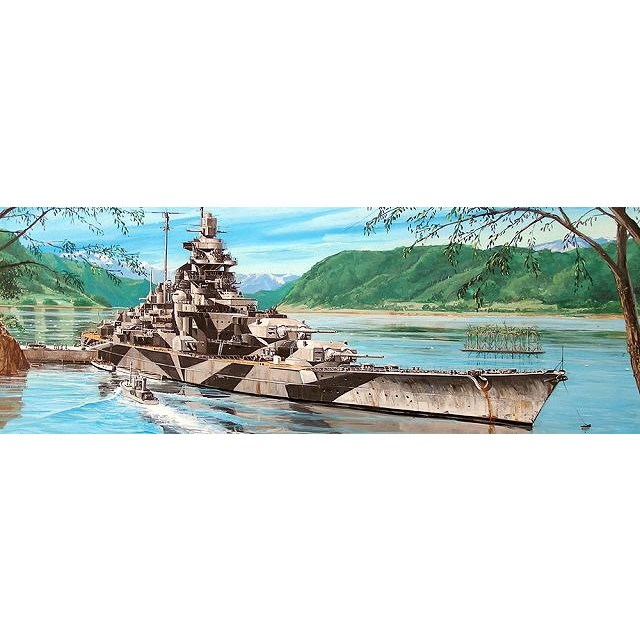 05712 ドイツ海軍 ビスマルク級戦艦 ティルピッツ