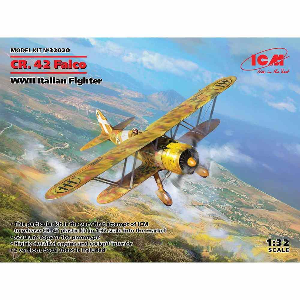 32020 イタリア空軍 フィアット CR.42 ファルコ