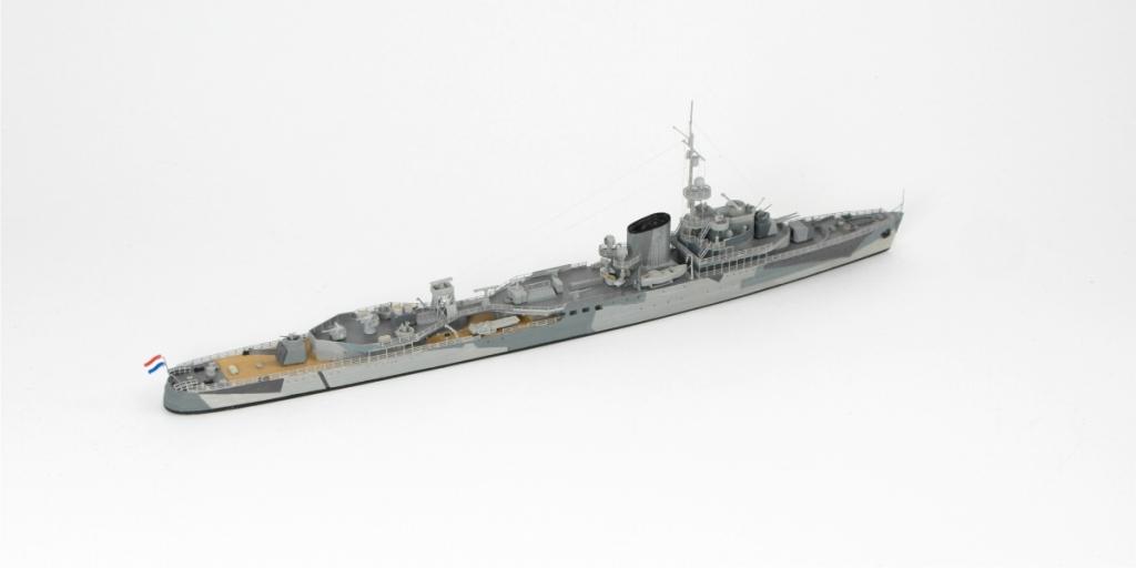 7100 オランダ海軍 トロンプ級軽巡洋艦 トロンプ Tromp 1942