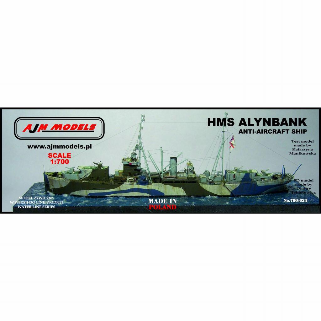 700-024 英海軍 特設防空艦 アリンバンク Alynbank