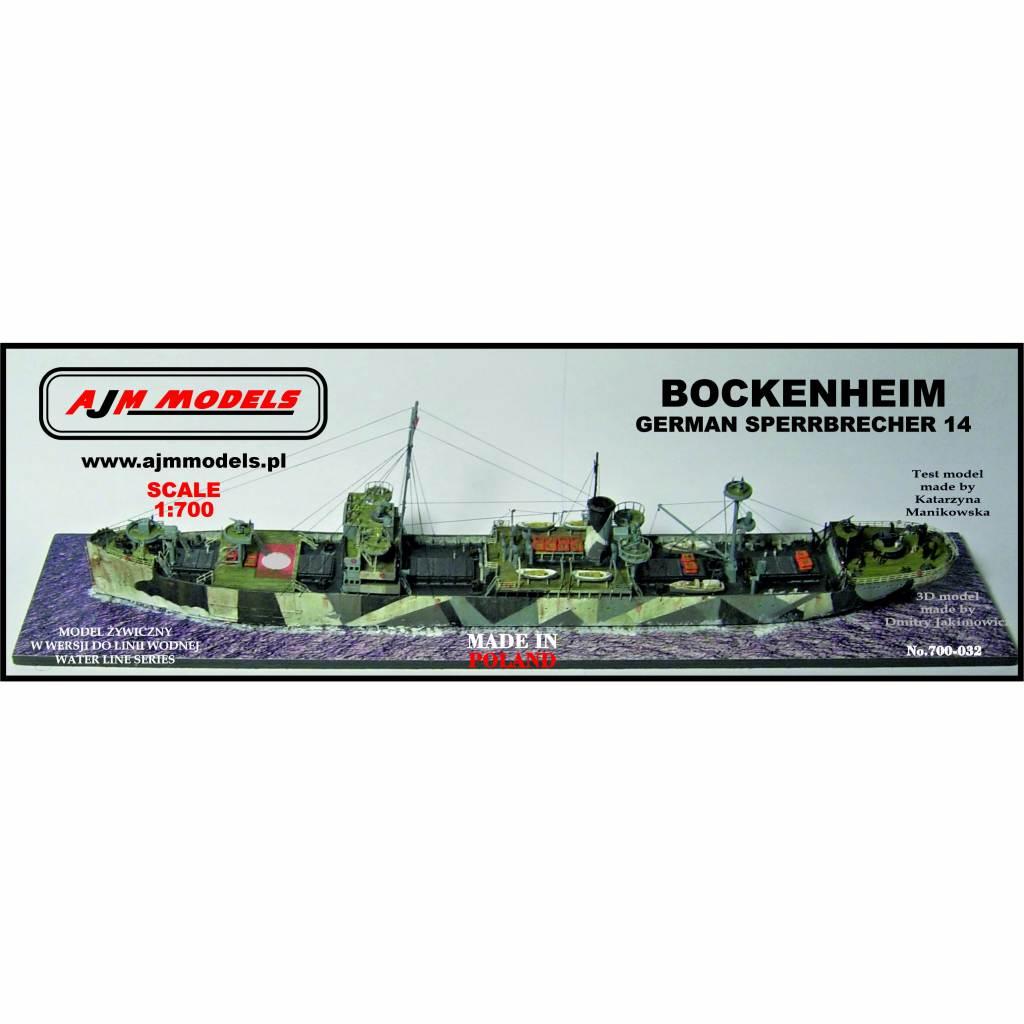 【再入荷】700-032 独海軍 機雷原啓開船14 ボッケンハイム Bockenheim