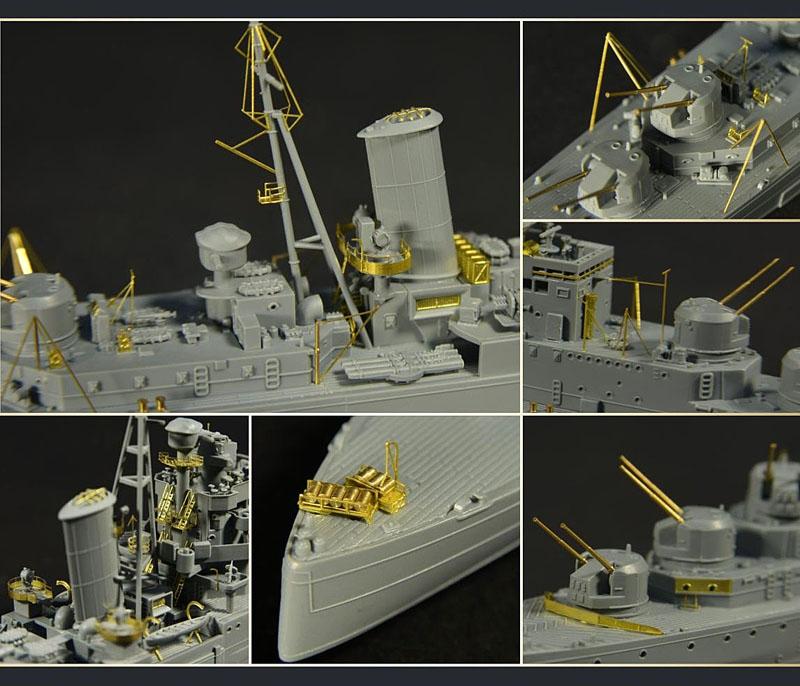 FH1112S 英海軍 軽巡洋艦 ナイアド Naiad 1940 デラックス版