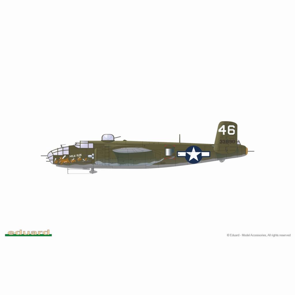 【新製品】2140 1/72 「エンジェル・オブ・マーシー」 ノースアメリカン B-25J ミッチェル リミテッドエディション
