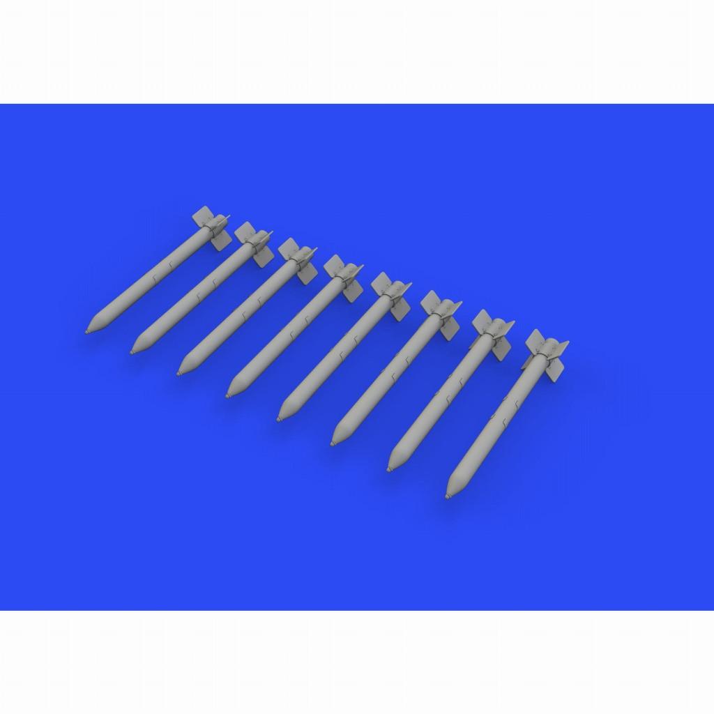 ブラッシン632154 HVAR 5インチロケット弾 (8個入り)