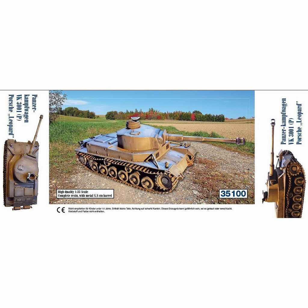 """35100 Panzerkampfwagen VK3001 (P) - Porsche """"Leopard"""""""