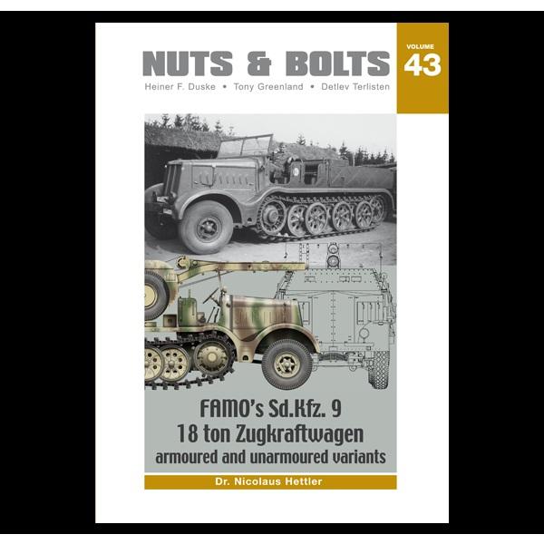 【再入荷】NB43 ファモ Sd.Kfz.9 18トン重ハーフトラック戦車牽引車 装甲型および非装甲型