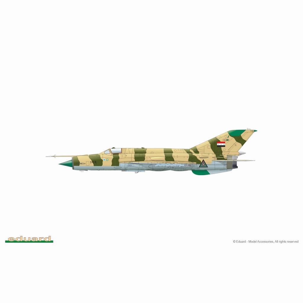 【新製品】84177 1/48 ミグ MiG-21MF フィッシュベッド ウィークエンドエディション