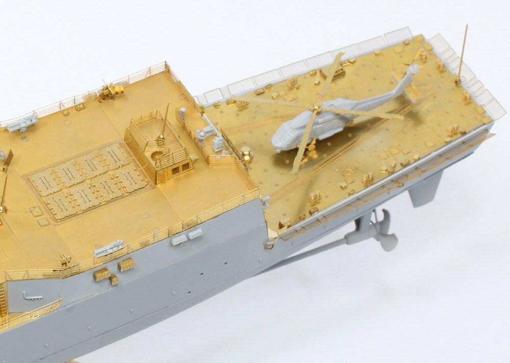 35027F1 アメリカ海軍 ミサイル駆逐艦 DDG-98 フォレスト・シャーマン ディテールアップセット