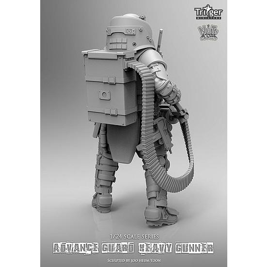 T75021 75mm アドバンスガード ヘビーガンナー (Advance guard heavy gunner)