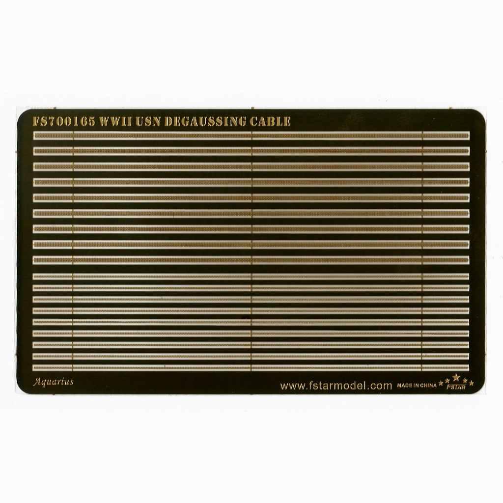 【予約受付中】FS700165 WWII 米海軍 船外消磁ケーブル