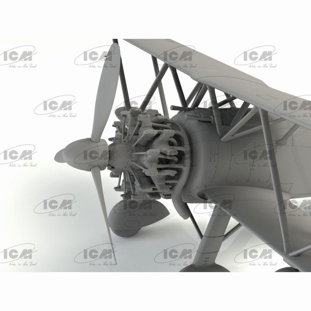 32023 イタリア空軍 フィアット CR.42AS