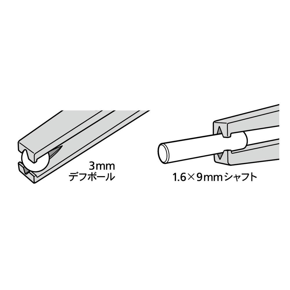74155)精密ピンセット (カギ爪タイプ)