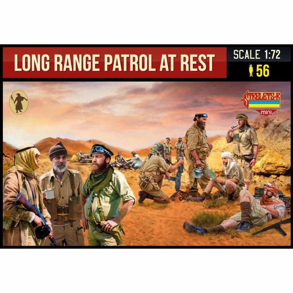 【新製品】MINI M143 WWII イギリス陸軍特殊部隊 LRDG(長距離砂漠挺身隊) 休憩