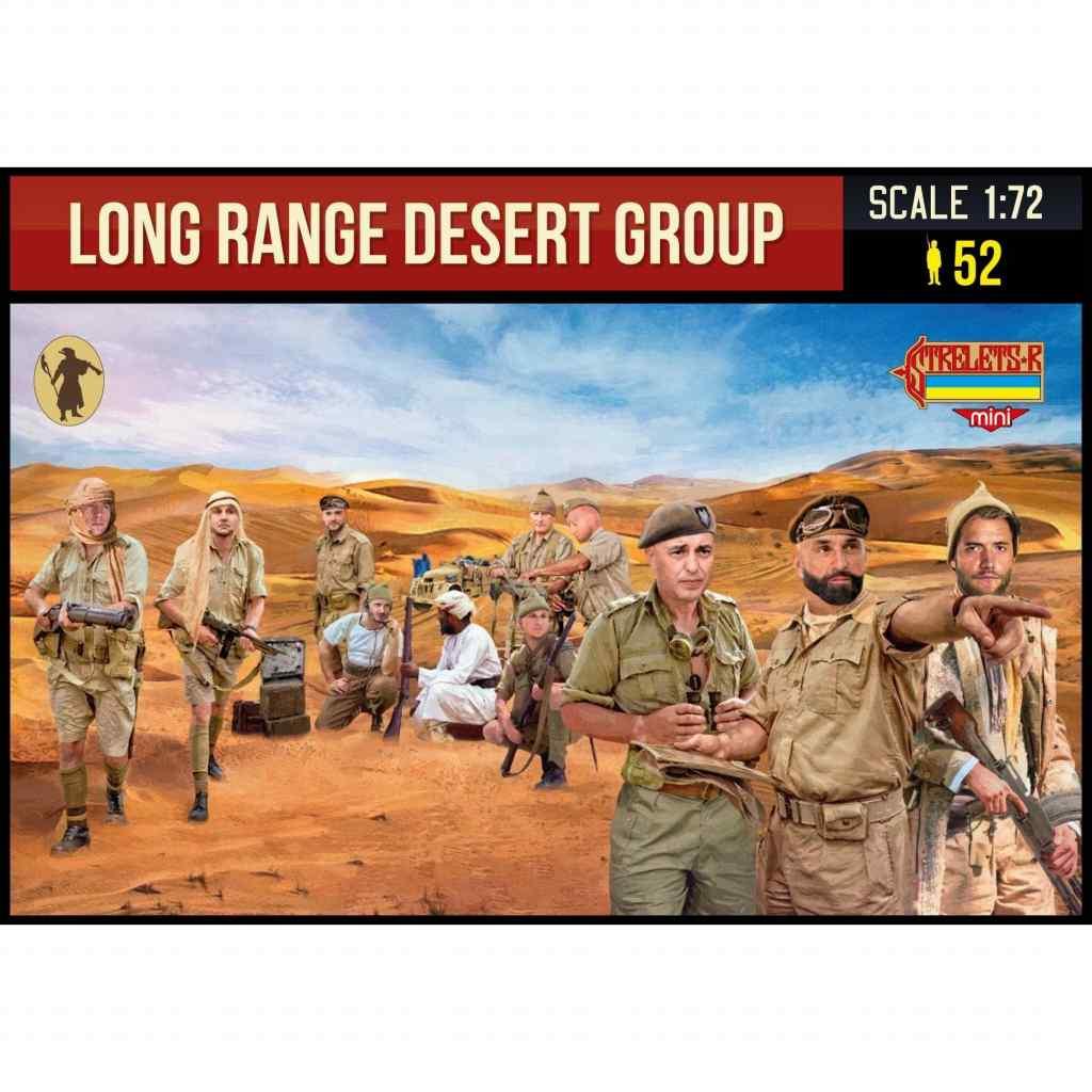 【新製品】MINI M144 WWII イギリス陸軍特殊部隊 LRDG(長距離砂漠挺身隊)
