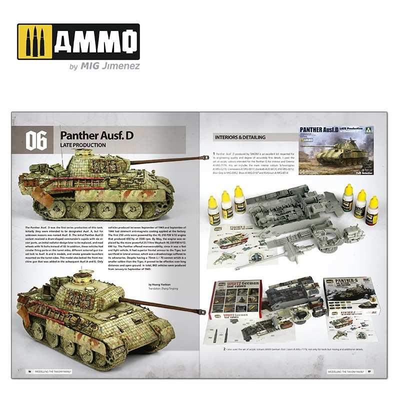 【予約受付中】A.MIG-6270 タコム社製パンター戦車のモデリングガイド