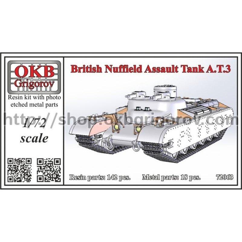 72063 イギリス ナッフィールド・オーガニゼーション AT.3 突撃戦車